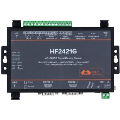 4G+WIFI+GPS 串口服务器