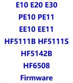 E10_E20_E30_EE10_EE11_HF5111B_HF5111S_HF5142B_HF6508_PE10_PE11_固件